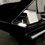 Steinway grand piano