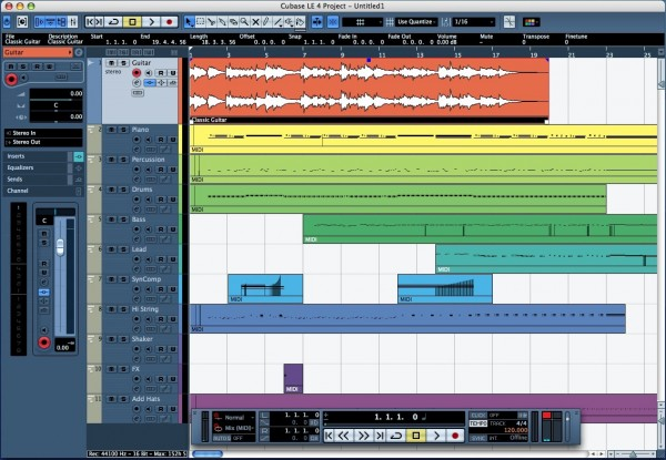 cubase le4 recording software
