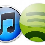 iTunes and Spotify