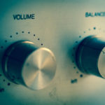 Amplifier volume